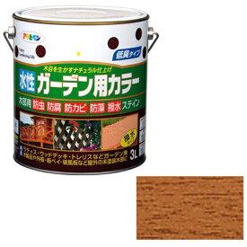 アサヒペン 水性ガーデン用カラー 3L (ライトオーク)