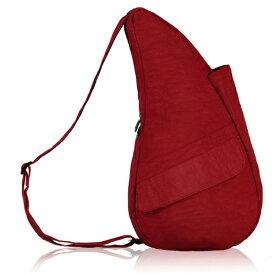 Healthy Back Bag ヘルシーバックバッグ 男女兼用 ボディバッグ テクスチャードナイロン(Sサイズ:6L/クリムゾン)6303【マグネットポケット&大容量ジッパーポケット追加タイプ】