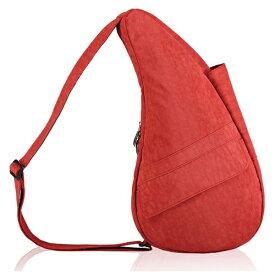 Healthy Back Bag ヘルシーバックバッグ 男女兼用 ボディバッグ テクスチャードナイロン(Sサイズ:6L/トスカンレッド)6303【マグネットポケット&大容量ジッパーポケット追加タイプ】