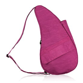 Healthy Back Bag ヘルシーバックバッグ 男女兼用 ボディバッグ テクスチャードナイロン(Sサイズ:6L/ベリーベリー)6303【マグネットポケット&大容量ジッパーポケット追加タイプ】
