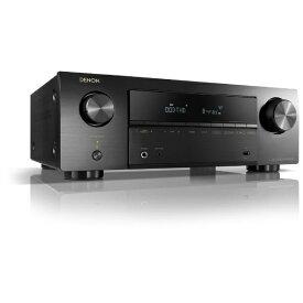 デノン Denon 5.2ch AVサラウンドレシーバー AVR-X550BT K ブラック [Bluetooth対応 /ワイドFM対応][AVRX550BTK]
