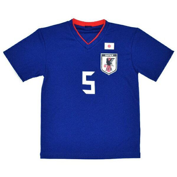 JFA サッカー日本代表 プレーヤーズTシャツ(#5 長友佑都/Lサイズ) O-029-L