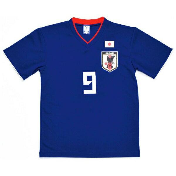 JFA サッカー日本代表 プレーヤーズTシャツ(#9 岡崎慎司/XLサイズ) O-044-XL