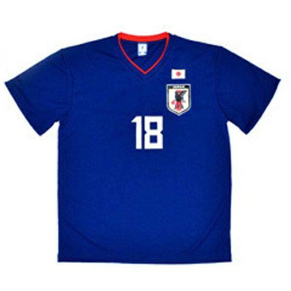 JFA サッカー日本代表 プレーヤーズTシャツ(#18 浅野拓磨/XSサイズ) O-079-XS