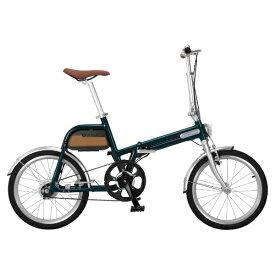 TSINOVA チノーバ 20型 折りたたみ電動アシスト自転車 ALIAS(グリーン/シングルシフト) AR-TN20TSF【組立商品につき返品不可】 【代金引換配送不可】