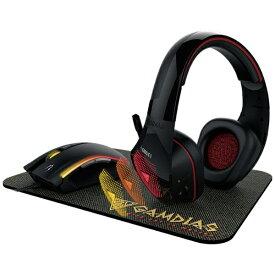 GAMDIAS ガンディアス Artemis E1 ゲーミングヘッドセット Artemis [φ3.5mmミニプラグ+USB /両耳 /ヘッドバンドタイプ][ARTEMISE13IN1COMBO]