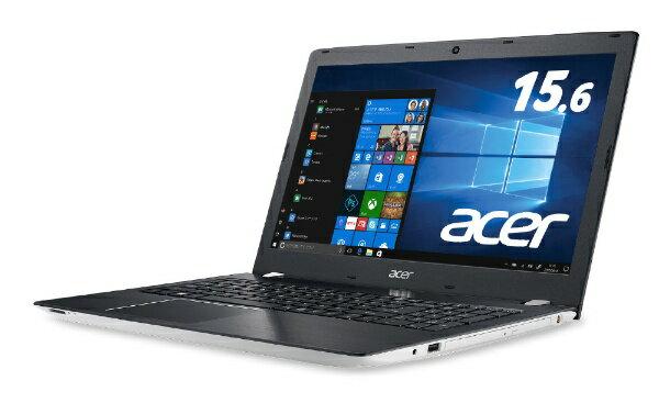 ACER エイサー E5-576-N58G/W ノートパソコン Aspire E 15 ホワイト [15.6型 /intel Core i5 /HDD:1TB /メモリ:8GB /2018年5月モデル][E5576N58GW]