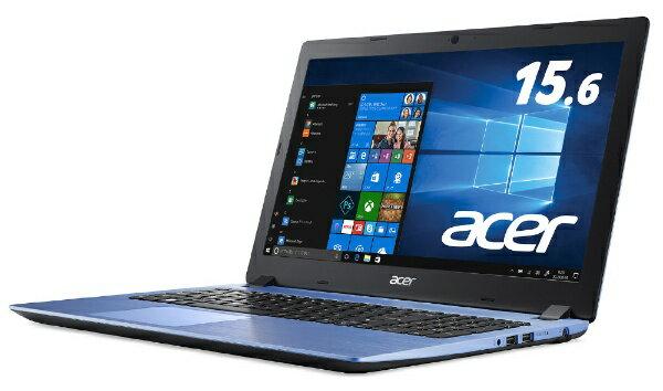 ACER エイサー A315-32-N14U/B ノートパソコン Aspire 3 ストーンブルー [15.6型 /intel Celeron /SSD:256GB /メモリ:4GB /2018年5月モデル][A31532N14UB]