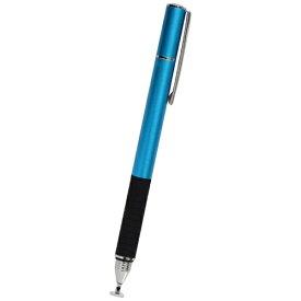 OWLTECH オウルテック 〔タッチペン:静電式〕 ディスク型&導電繊維ペン先静電式タッチペン OWL-TPSE02-BL ブルー