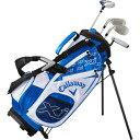 キャロウェイ Callaway ジュニアゴルフクラブセット XJ 1 ジュニアセット(4本セット/キャディバッグ付/身長:100〜12…