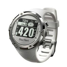 ショットナビ ShotNavi 時計型GPSゴルフウォッチ ShotNavi(ホワイト) W1-GL-WH【国内&海外対応】