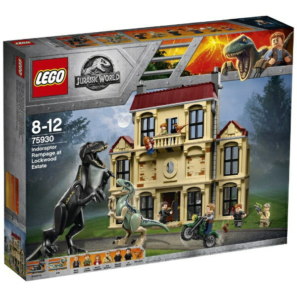 レゴジャパン LEGO 75930 ジュラシック・ワールド インドラプトル、ロックウッド邸で大暴れ