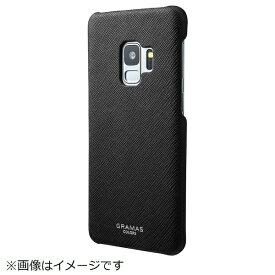 坂本ラヂヲ Galaxy S9用 EURO Passione Shell PU Leather Case CSC-61118BLK ブラック