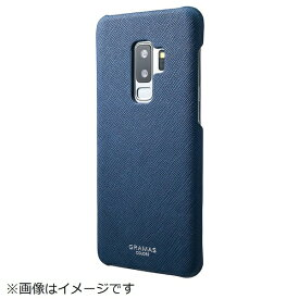 坂本ラヂヲ Galaxy S9+用 EURO Passione Shell PU Leather Case CSC-61218NVY ネイビー