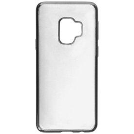MSソリューションズ Galaxy S9用 TPUメタルケース「CLEAR METAL」 LEPLUS LP-GS9TNMMBK チタン
