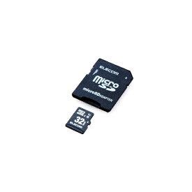 エレコム ELECOM microSDHCカード 車載用 MLC UHS-I 32GB[MFCAMR032GU11A]