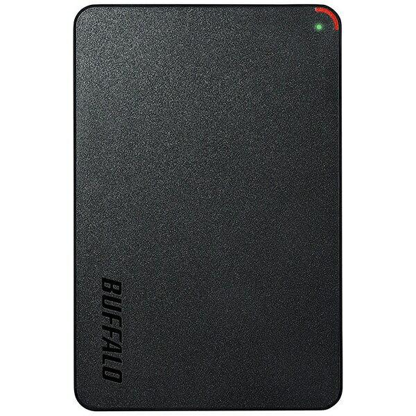 BUFFALO バッファロー HD-PCFS2.0U3-BBA 外付けHDD MiniStation HD-PCFSU3-Aシリーズ ブラック [2.5インチ /2TB][HDPCFS2.0U3BBA]
