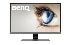 BenQ ベンキュー EW3270U 4K HDR モニター/ディスプレイ [31.5インチ/4K/HDR/VA/DCI-P3 95%/USB Type-C/HDMI×2/DP1.2/スピーカー/アイケア機能B.I.+] BenQEシリーズ メタリックグレー EW3270U [31.5型 /ワイド /4K(3840×2160)][31.5インチ 液晶ディスプレイ モニター