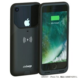 AIRCHARGE エアチャージ Air Charge MFi ワイヤレスチャージングケースiPhone7用 AIR0337 ブラック