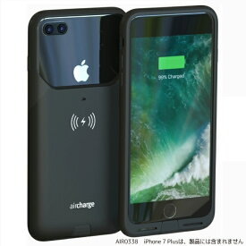 AIRCHARGE エアチャージ Air Charge MFi ワイヤレスチャージングケースiPhone7Plus用 AIR0338 ブラック