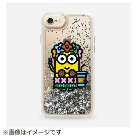 CASETIFY ケースティファイ iPhone 8 / 7用 Minions Collection CTF-4551591-530601 Minion Glitter Silver