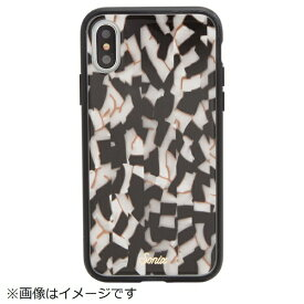 Sonix ソニックス iPhone X用 TORT LUXE CASE 276-0171-0011 BLACK PEARL