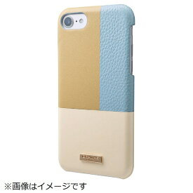 坂本ラヂヲ iPhone 8 / 7用 Nudy Leather Case Limited CLC2196LBL Blue