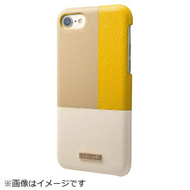坂本ラヂヲ iPhone 8 / 7用 Nudy Leather Case Limited CLC2196LYL Yellow