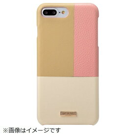 坂本ラヂヲ iPhone 8 Plus / 7 Plus用 Nudy Leather Case Limited CLC2206PLPK Pink