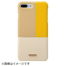 坂本ラヂヲ iPhone 8 Plus / 7 Plus用 Nudy Leather Case Limited CLC2206PLYL Yellow