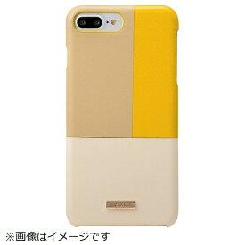 坂本ラヂヲ iPhone 8 Plus / 7 Plus用 Nudy Leather Case Limited CLC2206PLYL Yellow