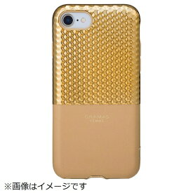 坂本ラヂヲ iPhone 8 / 7用 Hex Hybrid Case FLC2007GL Gold