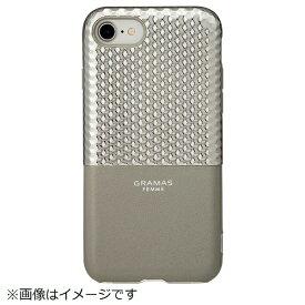坂本ラヂヲ iPhone 8 / 7用 Hex Hybrid Case FLC2007SL Silver