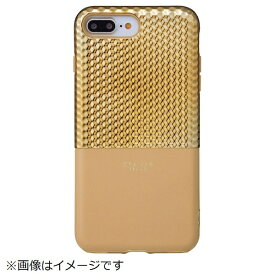 坂本ラヂヲ iPhone 8 Plus / 7 Plus用 Hex Hybrid Case FLC2017PGL Gold