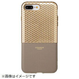 坂本ラヂヲ iPhone 8 Plus / 7 Plus用 Hex Hybrid Case FLC2017PCG Champagne
