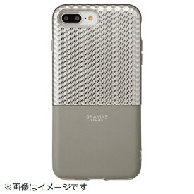 坂本ラヂヲ iPhone 8 Plus / 7 Plus用 Hex Hybrid Case FLC2017PSL Silver