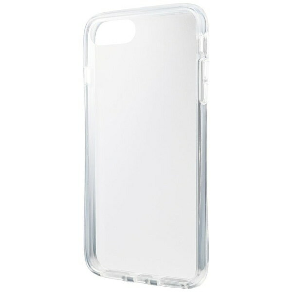 坂本ラヂヲ iPhone 8 Plus / 7 Plus用 Glass Hybrid Case CHC-50227CLR Clear