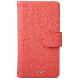 坂本ラヂヲ スマートフォン用[高さ 140mm] GRAMAS COLORS 「EveryCa2」 Multi PU Leather Case Mサイズ 手帳型ケース CLC-62618PNK Pink