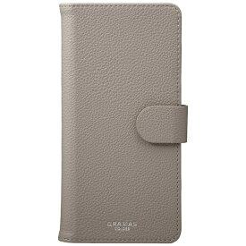 坂本ラヂヲ スマートフォン用[高さ 163mm] GRAMAS COLORS 「EveryCa2」 Multi PU Leather Case Lサイズ 手帳型ケース CLC-62718GRY Gray
