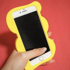 Wise Integration ワイズインテグレーション Re:LIKE!(リライク)シリコン製iPhoneケース 3DコラージュYELLOW iPhone8/7/6S/6 OTOME JOURNAL