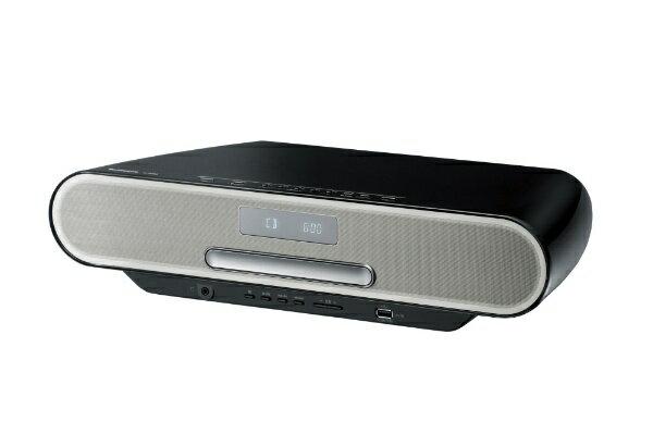 パナソニック Panasonic ミニコンポ SC-RS60-K ブラック [ワイドFM対応 /Bluetooth対応 /ハイレゾ対応][SCRS60K]