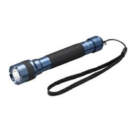 ヤザワ YAZAWA 懐中電灯 ガンメタリックブルー L6A304GB [LED /単3乾電池×2 /防水]