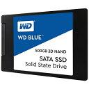 WESTERN DIGITAL ウェスタン デジタル WDS500G2B0A 内蔵SSD WD BLUE 3D NAND SATA SSD [500GB /2.5インチ]【バルク…