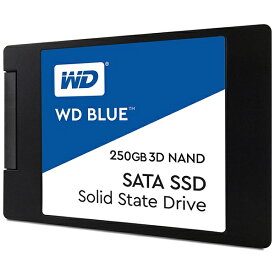 WESTERN DIGITAL ウェスタン デジタル WDS250G2B0A 内蔵SSD WD BLUE 3D NAND SATA SSD [2.5インチ /250GB]【バルク品】 [WDS250G2B0A]
