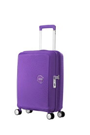 アメリカンツーリスター American Tourister スーツケース 35L SOUNDBOX(サウンドボックス)Spinner55(スピナー55) パープル 32G-91001 [TSAロック搭載] 【メーカー直送・代金引換不可・時間指定・返品不可】