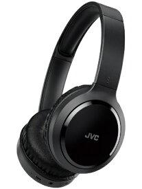 JVC ジェイブイシー ブルートゥースヘッドホン HA-S78BN ブラック [リモコン・マイク対応 /USB /ノイズキャンセリング対応][HAS78BN]