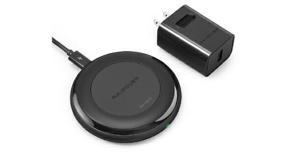【送料無料】 SoftBank RAVPower Fast Charge Wireless ChargingPad RP-PC058 【iPhoneX/iPhone 8/iPhone 8 Plus/Xperia/Nexus/Galaxy 他のQi対応 全機種対応】
