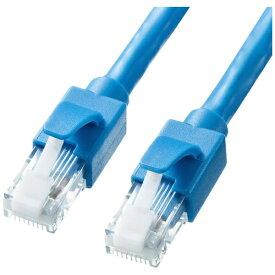 サンワサプライ SANWA SUPPLY KB-T6ATS-15BL LANケーブル ブルー [15m /カテゴリー6A /スタンダード]