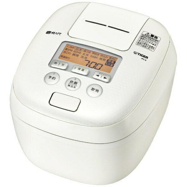 タイガー TIGER JPC-B102 炊飯器 炊きたて ミルキーホワイト [5.5合 /圧力IH][JPCB102WM]