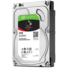 SEAGATE シーゲート ST3000VN007 内蔵HDD IronWolf [3.5インチ /3TB]【バルク品】[ST3000VN007]